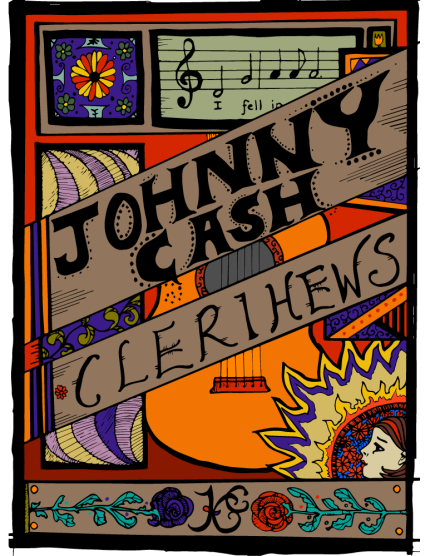 Johnny Cash Clerihews Cover